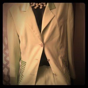 A 2piece suit.